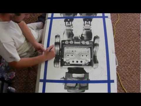 Printing and Painting a Robot - Zach Lawry