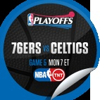 Philadelphia 76ers vs. Boston Celtics #5