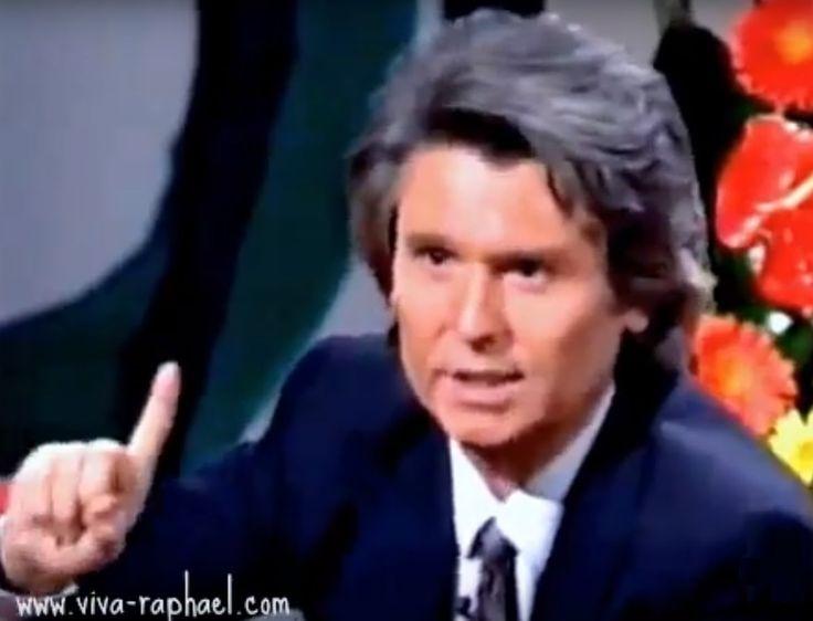 """Raphael en """"De tú a tú"""" con Nieves Herrera. 1993"""