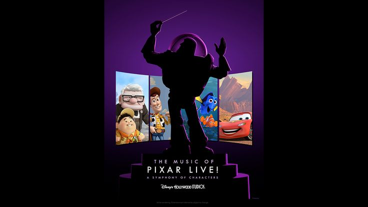 The Music of Pixar LIVE! Coming to Hollywood Studios