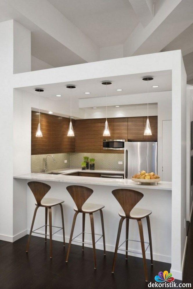 amerikan mutfak asma tavan modelleri