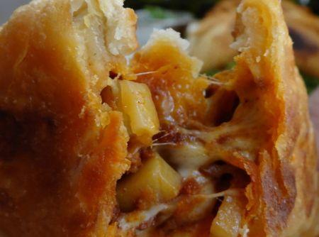 Flaky Chorizo Potato and Cheese Empanadas Recipe   Just A Pinch ...
