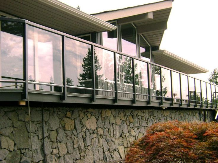 Exterior Glass Railing Vancouver | Glass Railing installations for Langley, Surrey, Fraser Val