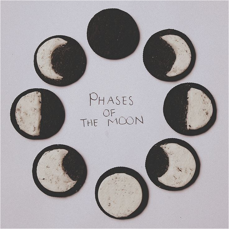 Oreo Phases of the Moon - Vocabulary: Waxing, Waning, Gibbous. Need: paper plates, popsicle sticks, Oreo cookies, Poster of moon phases.