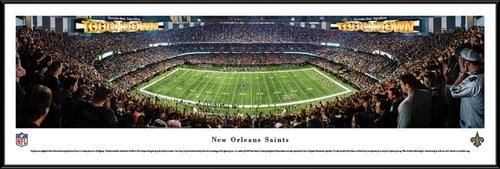 New Orleans Saints Framed Panoramic Photo