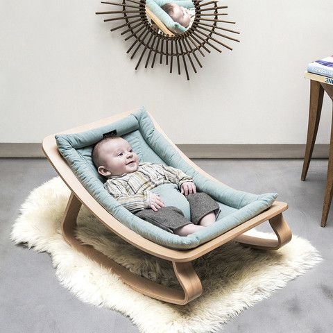 Eco-friendly baby bouncer in our baby onlineshop www. kidswoodlove.de!