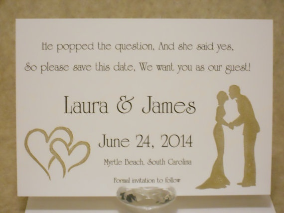 Funny Wedding Invite Poems: 20 Best Images About Save The Date On Pinterest