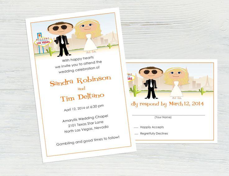 Vegas Wedding Invitation: 17 Best Ideas About Vegas Wedding Invitations On Pinterest