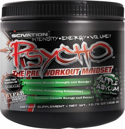 Buy Scivation Psycho Now. Authentic Workout Supplements Available at cheapest prices Online!  #supplements #gym #workout #buildmass