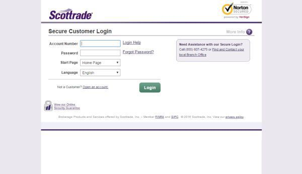 Scottrade Login To Access Your Account For Online Trading, Investing