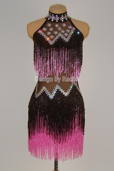 Beaded Crystal Costumes by Radim Lanik