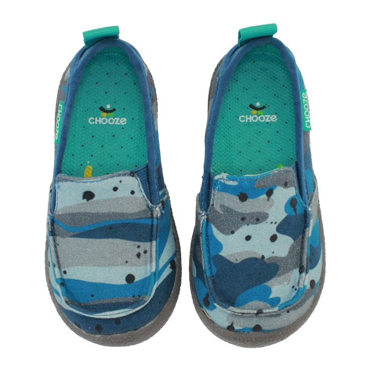 Chooze Shoes: Scout - CamoBlue Y-3