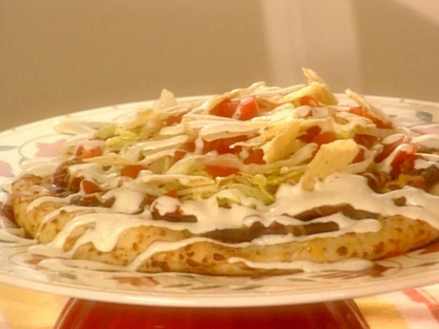Get Mexican Pizza Recipe from Food Network