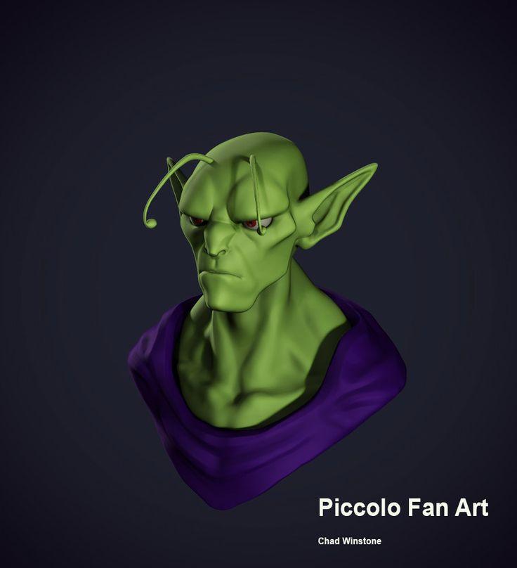 ArtStation - Piccolo Fan Art Sculpt , Chad Winstone