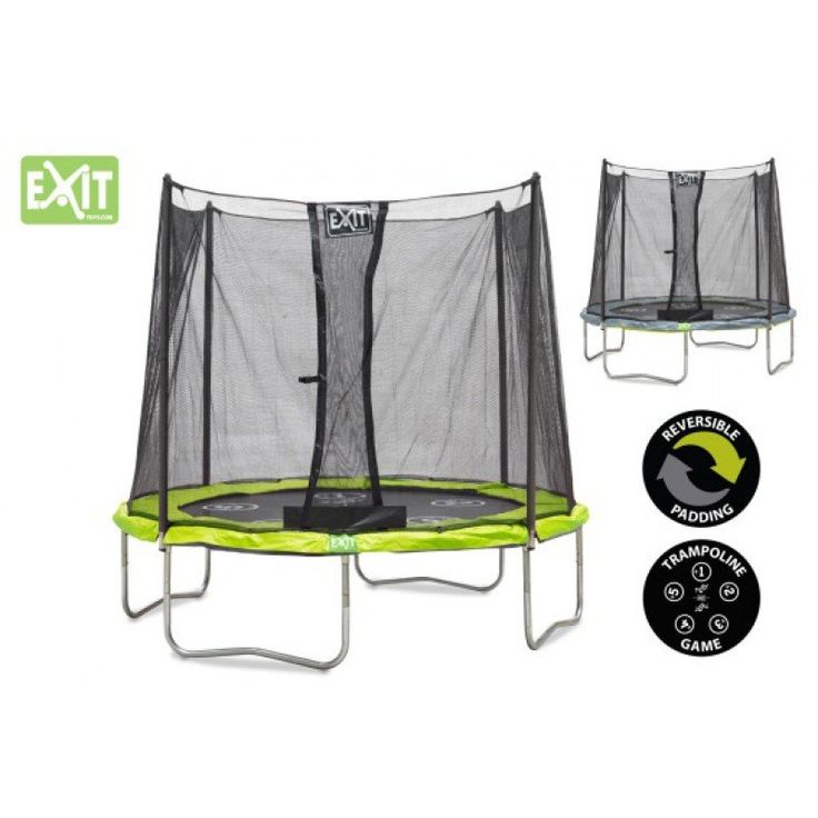 Simple EXIT TWIST trampoline filet cm ft