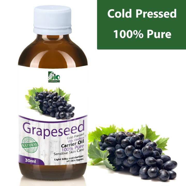 Grape Seed Oil Cold Pressed Grapeseed Oil 100 Pure Organic Unrefined Grapeseed Grapeseed Oil Benefits Grapeseed Oil