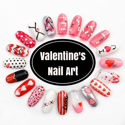The Polish List: Valentines 2016 - Nail Art Wheel