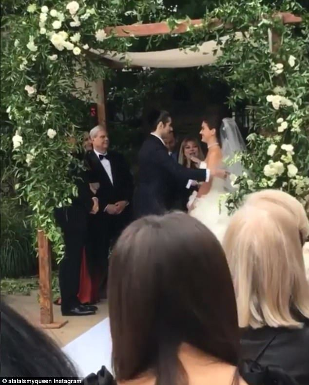 Ireland & Hailey Baldwin are bridesmaids for Alaia Baldwin | Daily ...