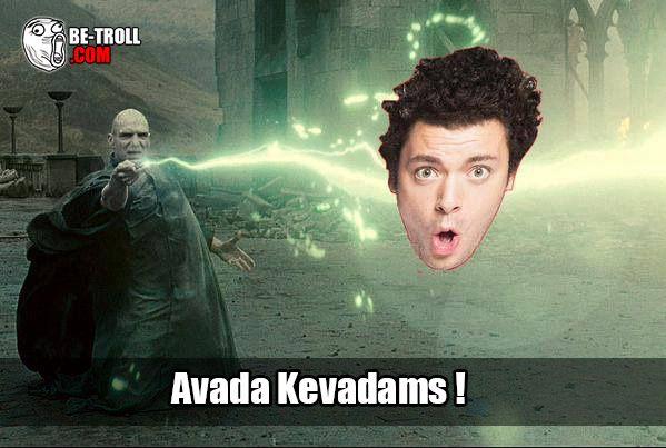 Avada Kevadams ! - Be-troll - vidéos humour, actualité insolite