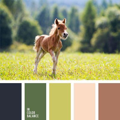 amarillo claro, beige, color verde hierba, colores para la decoración, de color verde lechuga, marrón claro, marrón rojizo, negro, paletas de colores para decoración, paletas para un diseñador, tonos verdes, verde amarillento, verde lechuga claro.