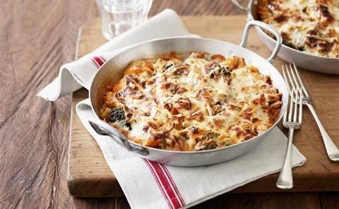 Tuna and vegetable pasta bakes recipe - Better Homes and Gardens - Yahoo!7