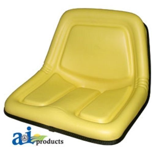 SEAT - DEERE TY15863 HIGH-BACK SEAT:   John Deere Replacement High Back Seat. For Riding Mower modes: STX30, STX38, 130, 160, 165, 316, 318, 322, 330, 332, 420, 430; Skid Steer Loader models: 375, 570 Plastic seat pan and frame so rusting is not an issue. sections and models: (1 to 14 of 14) Seats > Complete Seats John Deere RIDING MOWER: STX30 John Deere RIDING MOWER: STX38 John Deere RIDING MOWER: 130 John Deere RIDING MOWER: 160 John Deere RIDING MOWER: 165 John Deere RIDING MOWER: ...
