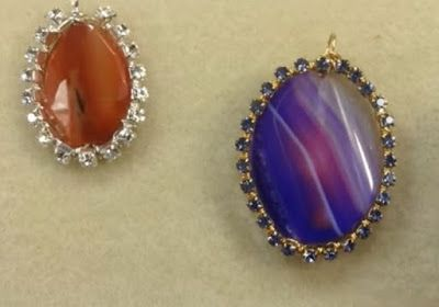 How to Use Wire to Make Cup Chain Bezels ~ The Beading Gem's Journal