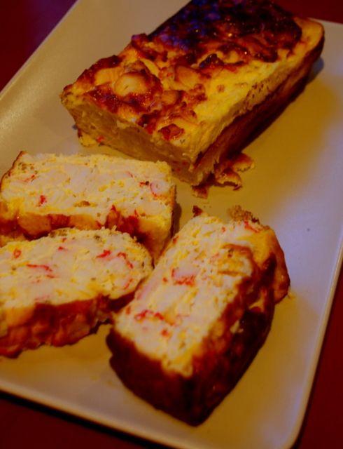 la+cossa+dukan:+Pastel+de+surimi+y+piña