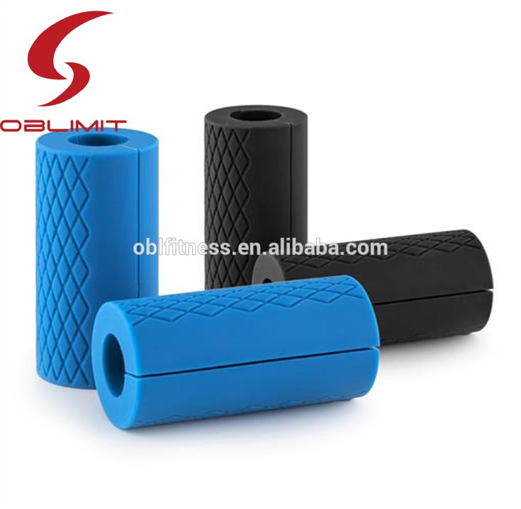 Natural Silicone Gel Carving Dumbbell Handles Grip