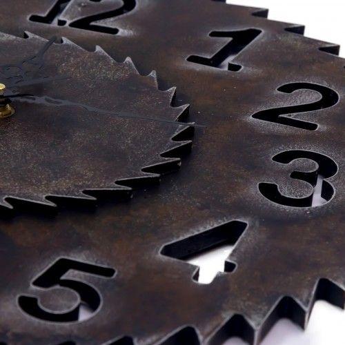 Juante | jam dinding clock unik industrial dekor interior design