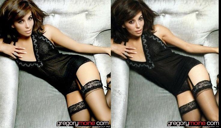 Les stars avant/après les retouches Photoshop
