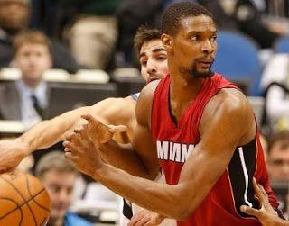 Blog Esportivo do Suíço: Coágulo na perna pode tirar Chris Bosh do Miami Heat da temporada