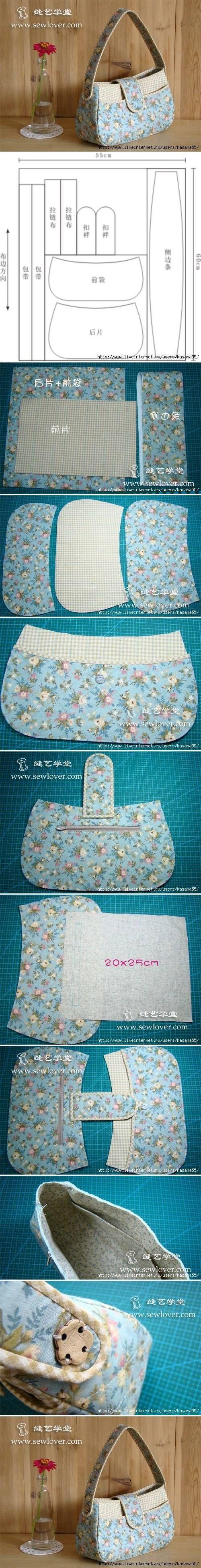 diy, fashion, purse, tutorial