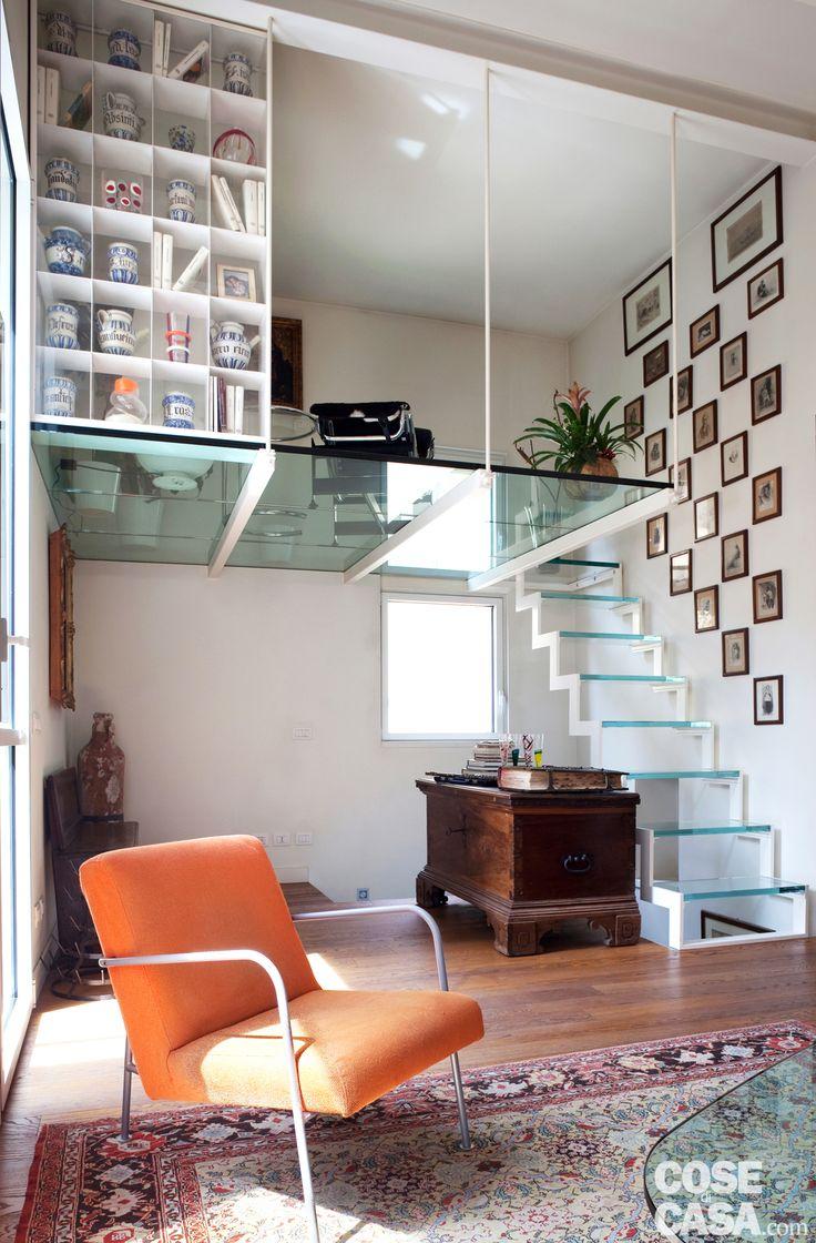 La casa, un comodo bilocale con cucina separata e due ampi terrazzi, è stata ristrutturata migliorandone la funzionalità e aumentando la luminosità. E in più è stata ricavata la cabina armadio.