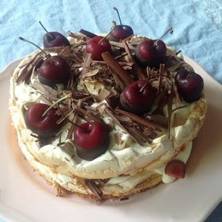 Brita-kakku Schwarzwaldin tapaan / Brita cake à la Schwarzwald