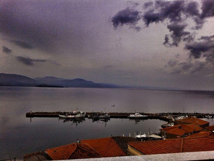 sweet grey sunset today at the #Villa #Molova at #Molyvos, #Μήθυμνα, #Lesvos, #Greece