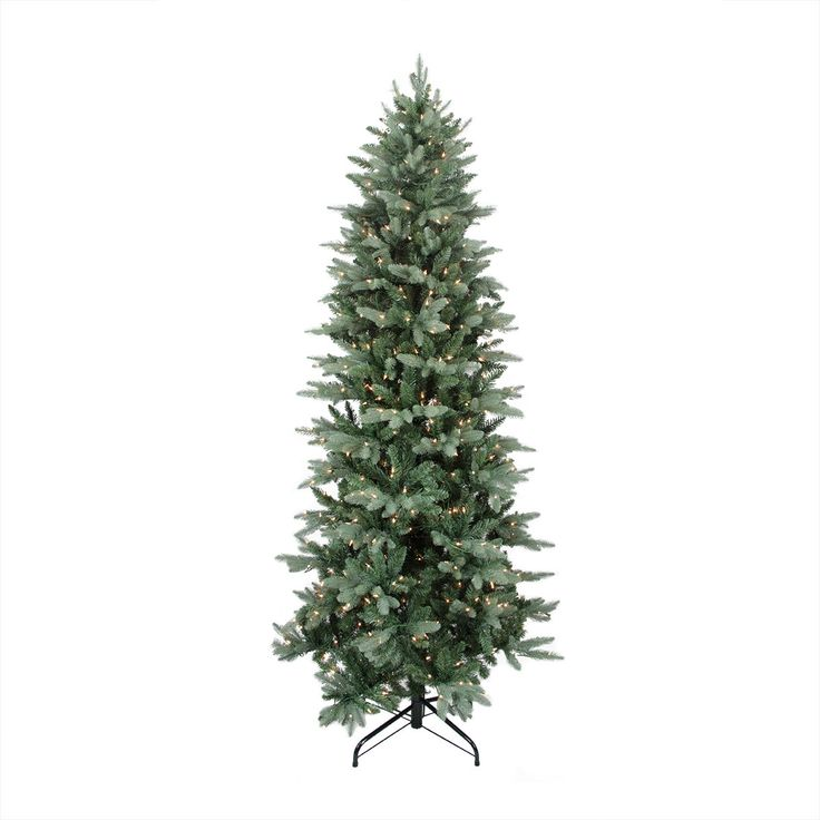 Www.walmart Christmas Trees Part - 48: 9u0027 Washington Frasier Fir Slim Artificial Christmas Tree With Clear Lights