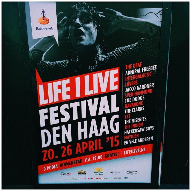 Every year on the 26th of April we celebrate Kings Night, because of King Willem Alexander his birthay on the 27th! Each year the #LifeILive Festival in Den Haag starts at 19:00h, music will be all over the city centre. Couple of tips: bring cash money, find a toilet in time and park your bike or car far outside the city centre. The funfair, bars and restaurants will be open till late.