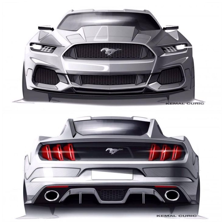 Future design ford mustang, may look like it has the muscle taken out of it but honestly i think its pretty sick. - LGMSports.com