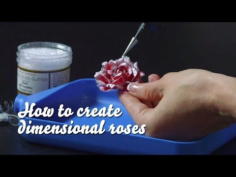 How to Create Dimensional Roses - Classic Rose Collection - YouTube