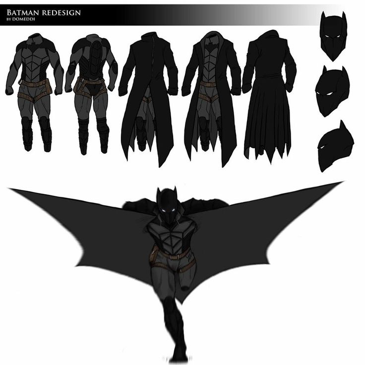 """I was thinking for a very long time about the Batman's costume about its symbology and its use, and I've re-imagine it thinking """"How would I make it if I was Batman?"""" Here's what I've done: THE COA..."""