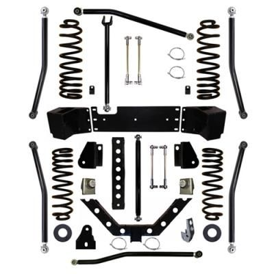 "2011 JEEP WRANGLER (JK) Rock Krawler 2.5 Inch X Factor Plus Long Arm Suspension Lift Kit with 3 Inch Rear Stretch: ""2.5 Inch X Factor Plus…"