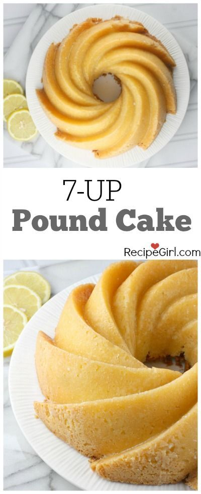 7-Up Pound Cake Recipe : one of the best cake recipes I've ever tried.  A lightly crunchy exterior with a tender cake inside.  So delicious!