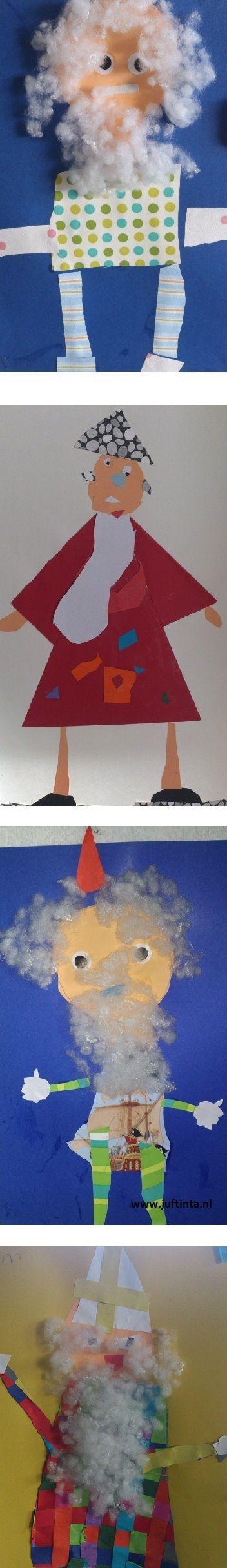 Kinderen vinden het geweldig om nieuwe kleding voor de Sint te ontwerpen! Je kunt gebruik maken van stofjes of gewoon van gekleurd papier. Met dank aan juf Gerda !