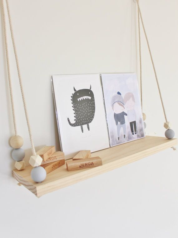 Scandi Swing Shelf by KimberleyJakeDesigns on Etsy