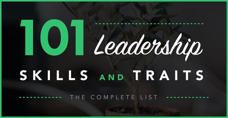 101 leadership skills & traits