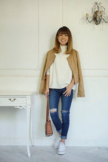 倉光彩乃さん アパレル勤務 27歳 (♀4歳のママ)
