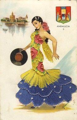 Mi abuelo era Catalán, de Barcelona. Mi papá es de México. Oigo que Andalucía es un lugar bonito.