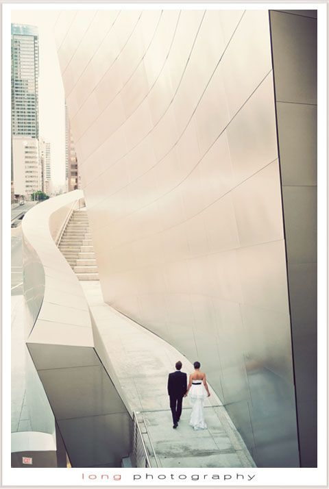 downtown los angeles walt disney concert hall wedding photography