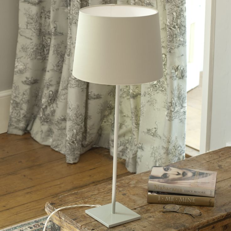 The Porter #TableLamp in #Clay portrays simple #elegance and would suit any room in your home.